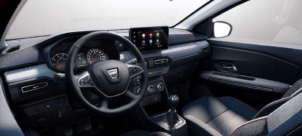 Sistema de conectividade do Dacia Jogger