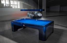 Primeira mesa de sinuca da Bugatti está pronta e custa um Lamborghini