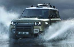 Land Rover Defender 90 com 300 cv chega ao Brasil