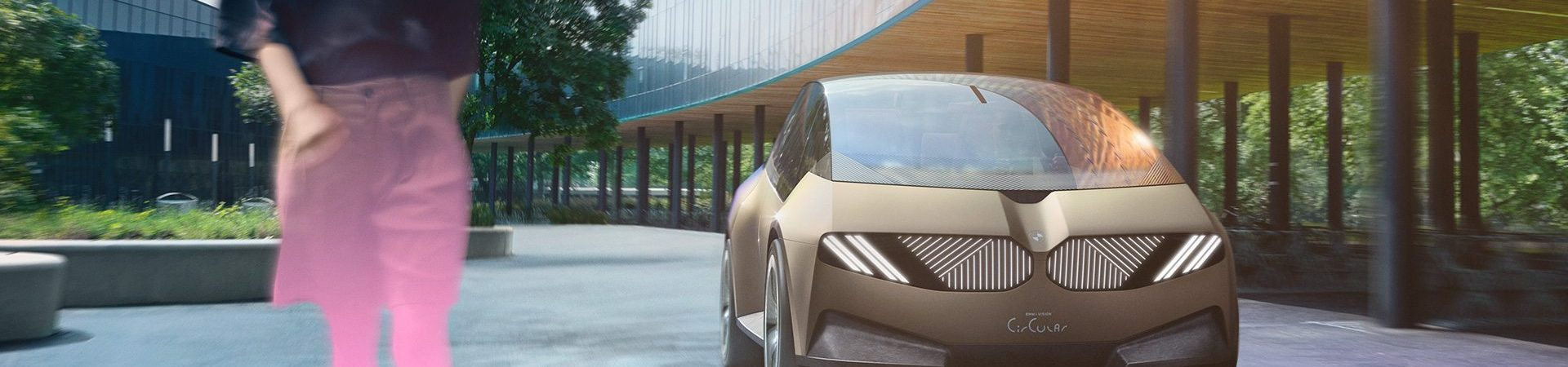 i BMW Vision Circular, sustainable concept