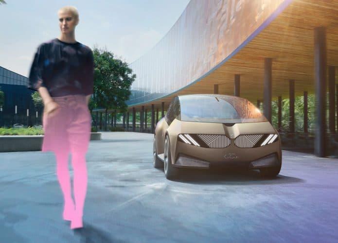 i Vision Circular da BMW, conceito sustentável