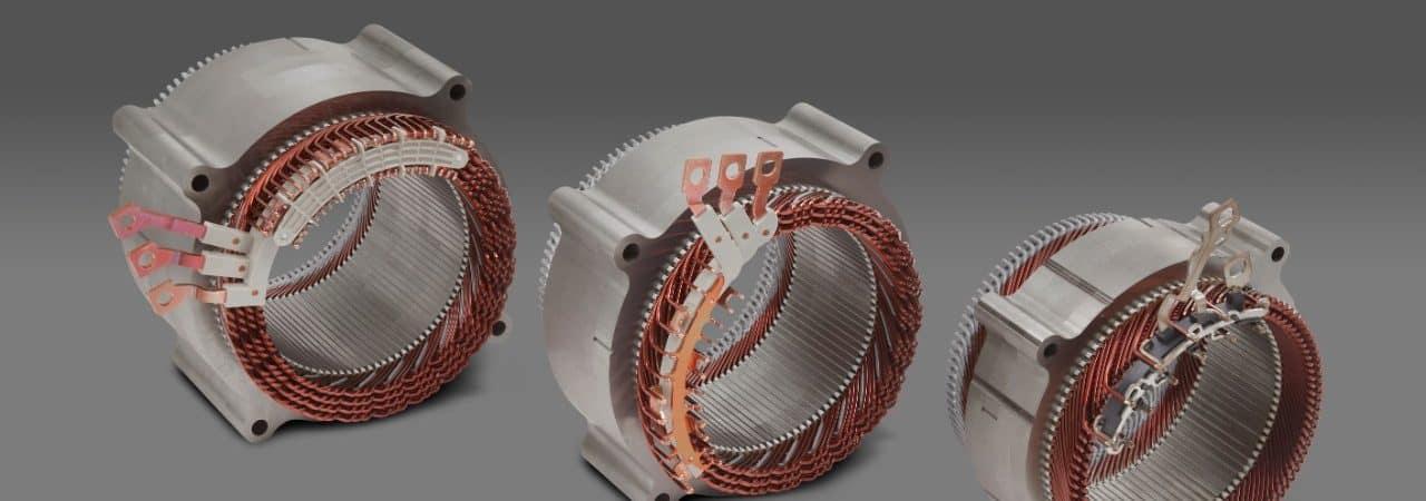 Os três motores elétricos da GM