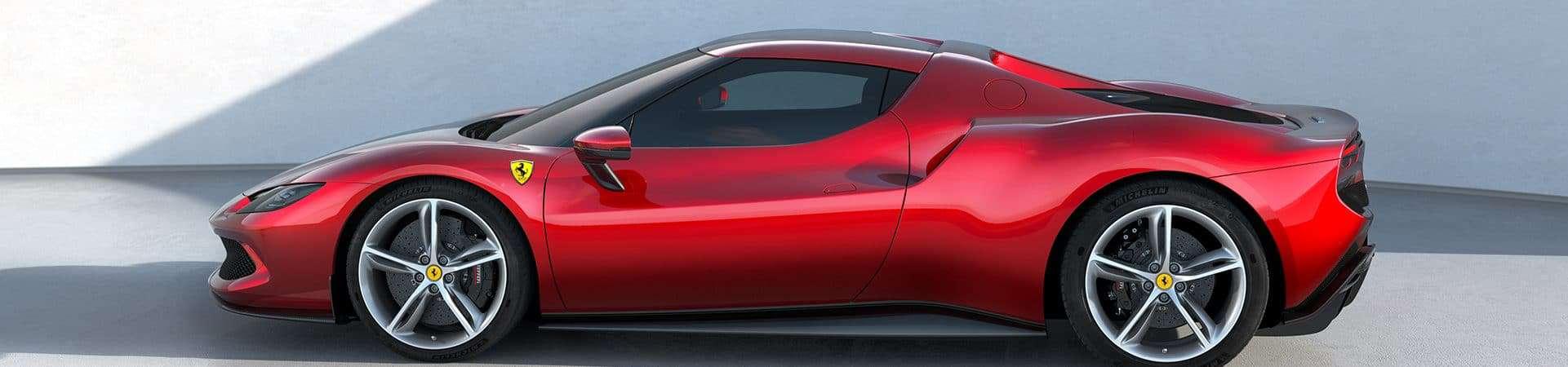 Ferrari 296 GTB. Futuros carros da Ferrari poderão monitorar temperatura do corpo dos motoristas, diz patente