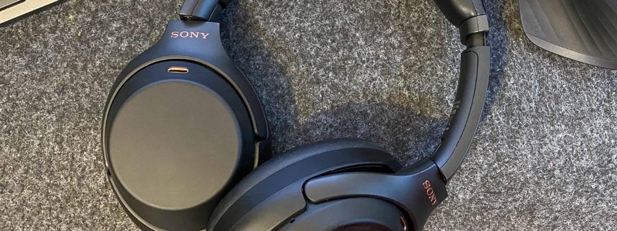 Fone de ouvido Sony WH-1000XM3, compatível com aptX Lossless