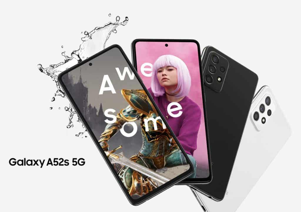 Galaxy A52s 5G (Imagem: divulgação/Samsung)
