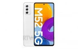 Vaza renderização do novo Samsung Galaxy M52