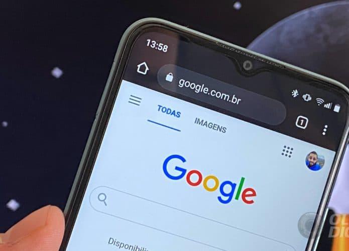Google no Android (Imagem: André Fogaça/Olhar Digital)