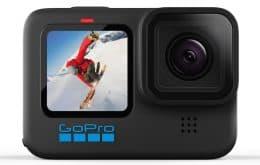 Para aventuras: GoPro lança modelo Hero 10 Black com novos recursos