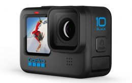 GoPro Hero 10 Black é lançada e filma até 5,3K em 60 quadros por segundo