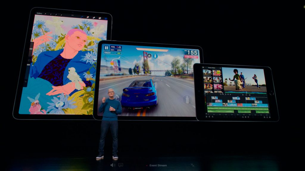 Apple announced the new iPad during the Apple Event. Tablet arrives next week with A13 Bionic chip. Image: Apple/Disclosure