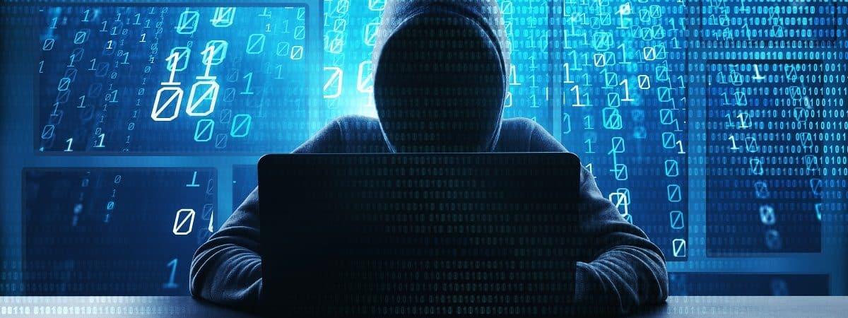 Imagem-conceito para vírus malware