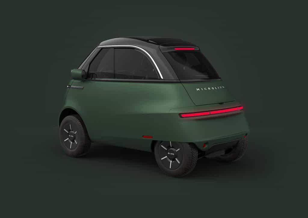 imagem do carrinho inteiro na cor verde e preta