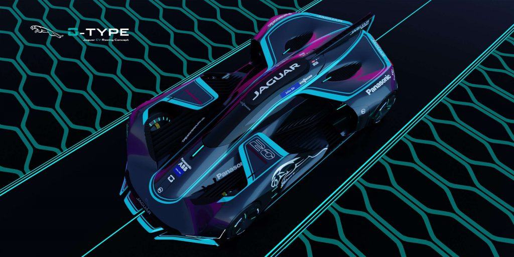 imagem da parte de cima do carro conceito