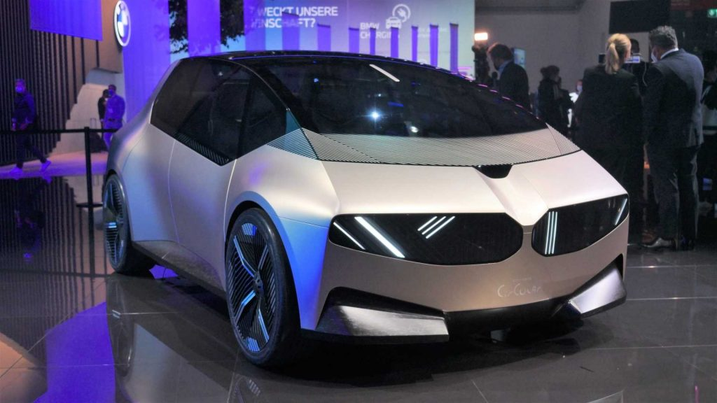 BMW concept car being unveiled at IAA Mobility