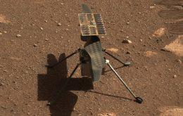 Está cada vez mais difícil levantar o helicóptero Ingenuity em Marte, afirma Nasa