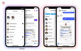 Instagram agora permite usuários do Messenger em grupos de bate-papo