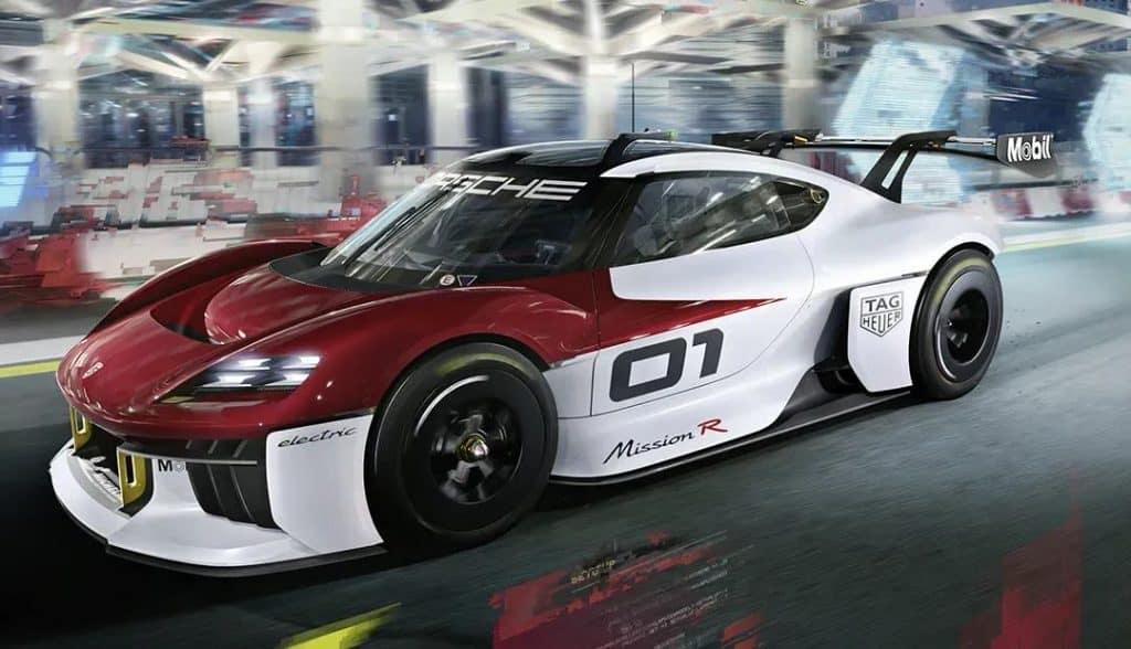 Porsche Mission R, conceito elétrico da fabricante