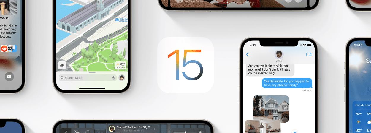 iOS 15 (Imagem: divulgação/Apple)