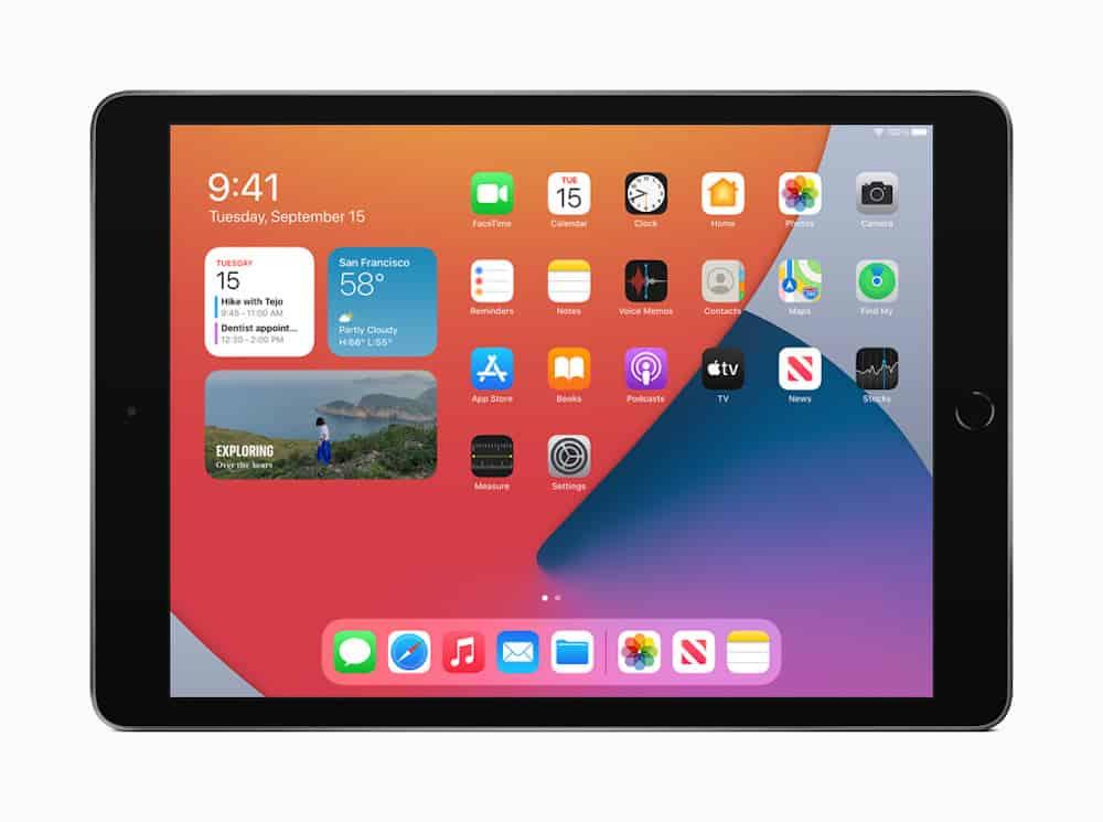 iPad de 8ª geração (Imagem: divulgação/Apple)