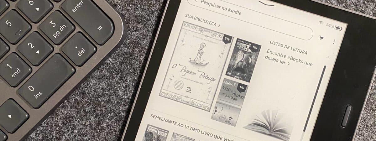 Kindle Oasis (Imagem: André Fogaça/Olhar Digital)