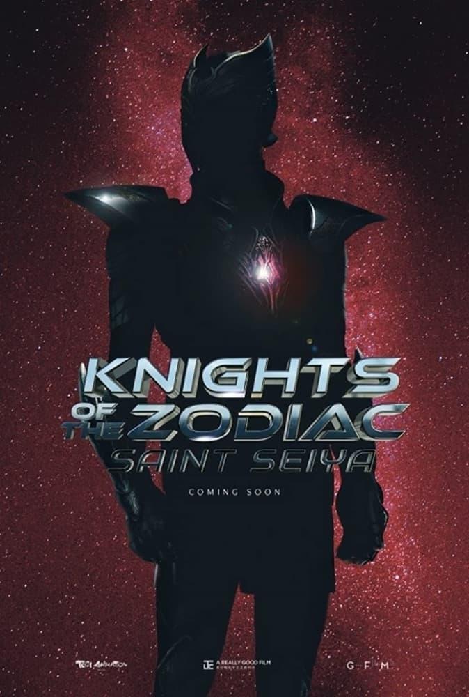 Pôster oficial do live action de 'Os Cavaleiros do Zodíaco'. Imagem: Sony Pictures/Divulgação