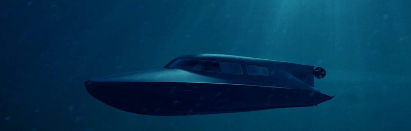 Lancha submarina Victa