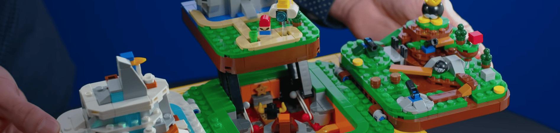Lego Super Mario 64 (Imagem: divulgação/Lego)