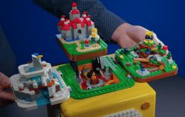 Lego anuncia un cubo interactivo con cuatro etapas de Super Mario 64