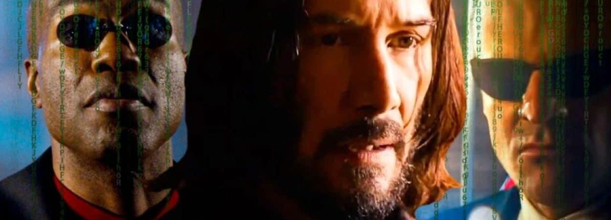 'Matrix 4': saiba todos os personagens que irão retornar em 'Resurrections'. Imagem: Montagem/Screenrant/Reprodução