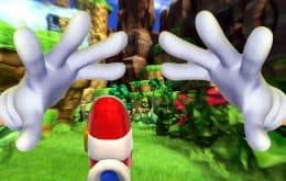 Mod te permite jugar a 'Sonic' en primera persona, y es fascinante