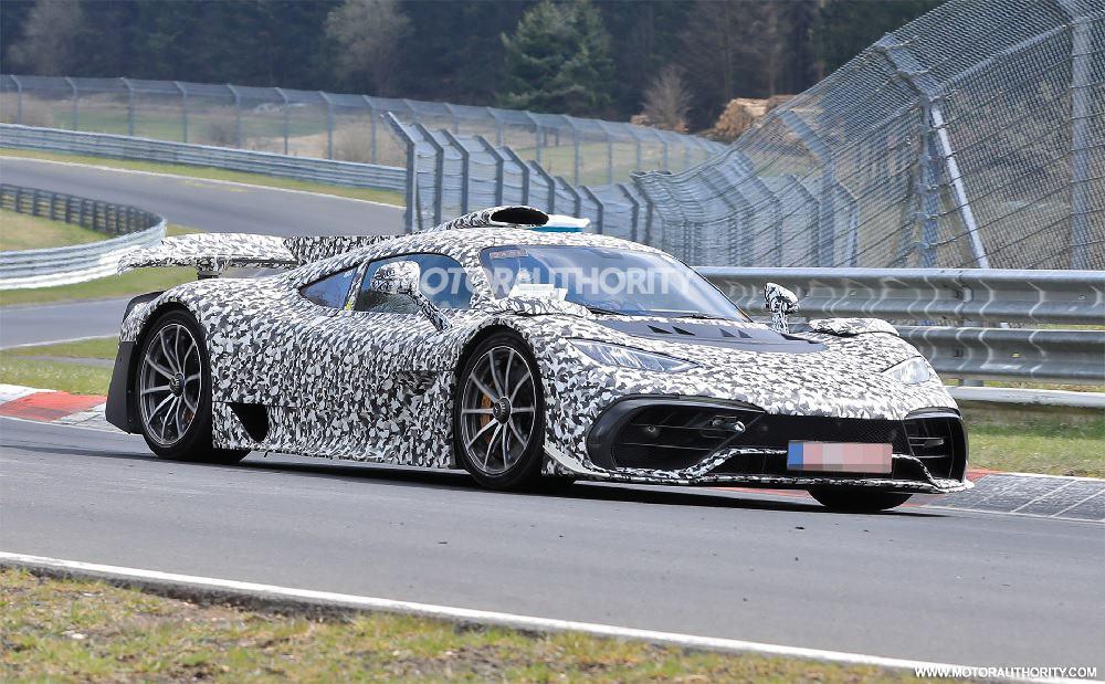 Mercedes One no Nurburgring