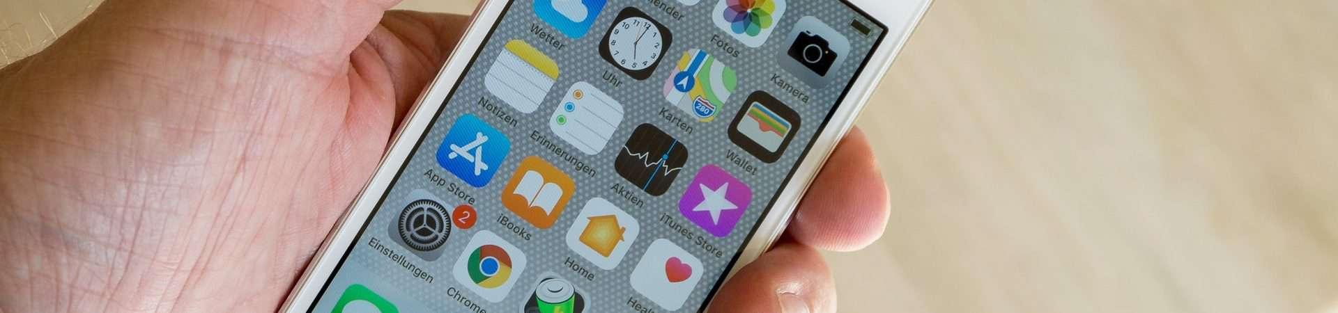 Apple libera atualização de segurança para iOS 12. Imagem: Michael Weidemann/Unsplash