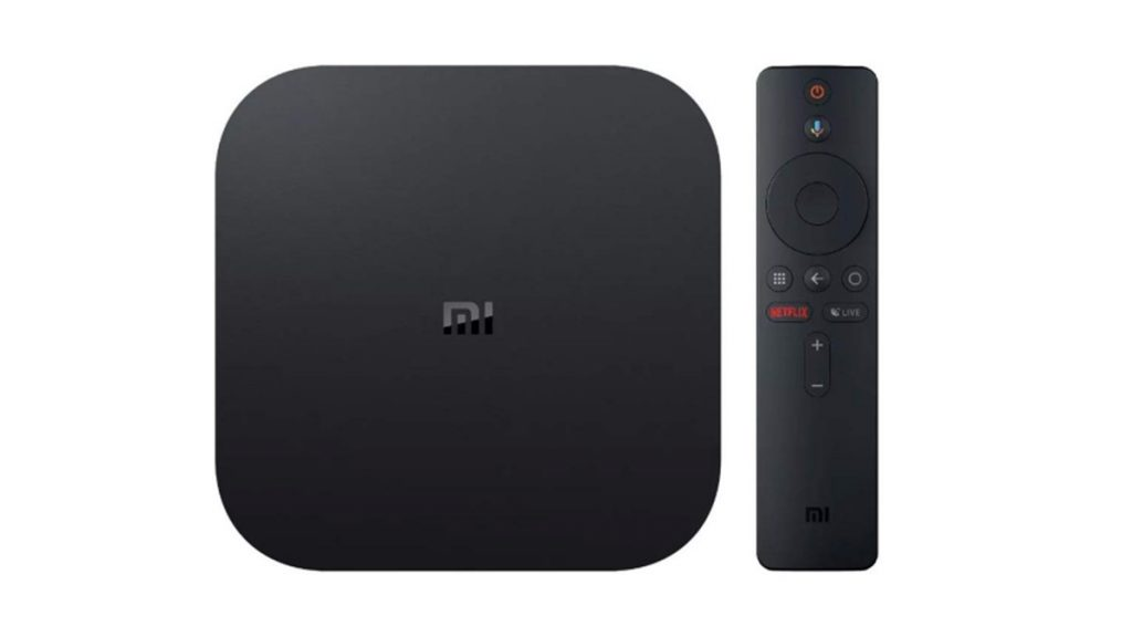 Foto mostra a MiTV Box S, da Xiaomi