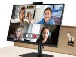 Monitor S4 da Samsung tem webcam pop up no topo da tela