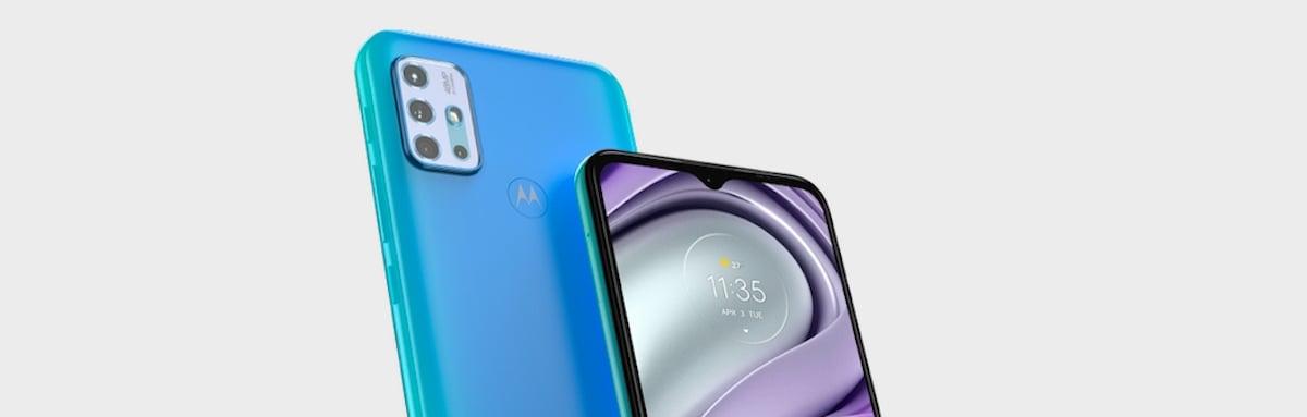 Motorola Moto E20 (Imagem: divulgação/Motorola)