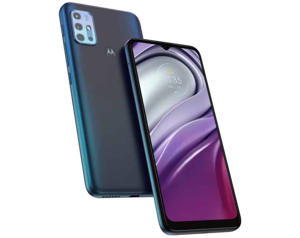 Motorola Moto G20 (Imagem: divulgação/Motorola)
