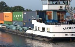 ¿Cerveza ecológica? La embarcación eléctrica utiliza contenedores que funcionan con baterías para entregar la bebida sin emisiones.