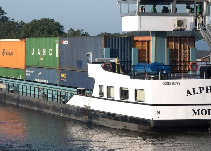 Alphenaar, o navio elétrico da Heineken