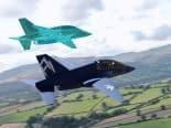 Avião cinco em um da Royal Air Force (RAF) se transforma conforme a missão