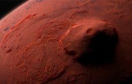 """Estudo mostra que """"super erupções"""" alteraram o clima de Marte há bilhões de anos"""