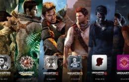 'Uncharted': vazamento revela que coleção com todos os cinco jogos chegará ao PC
