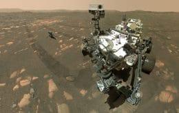 Perseverance coleta segunda amostra do solo de Marte