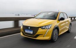 e-208 GT, hatch 100% elétrico da Peugeot, chega ao Brasil