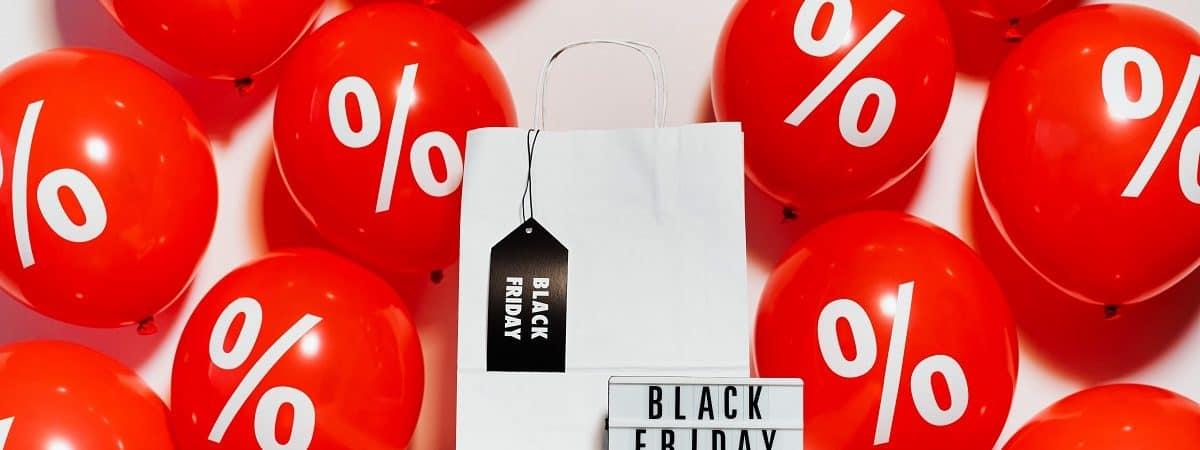 balões dom imagem de desconto na Black Friday