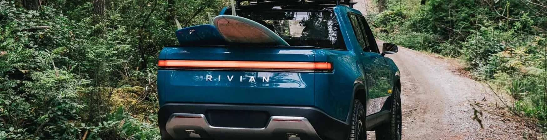Picape elétrica R1T da Rivian