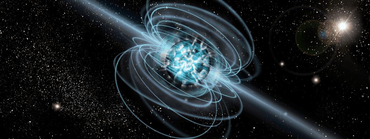 Magnetar, em ilustração