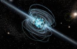 Sinais de rádio do espaço profundo podem vir de um tipo raro de estrela