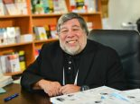 Wozniak no espaço? Cofundador da Apple lança empresa de exploração espacial
