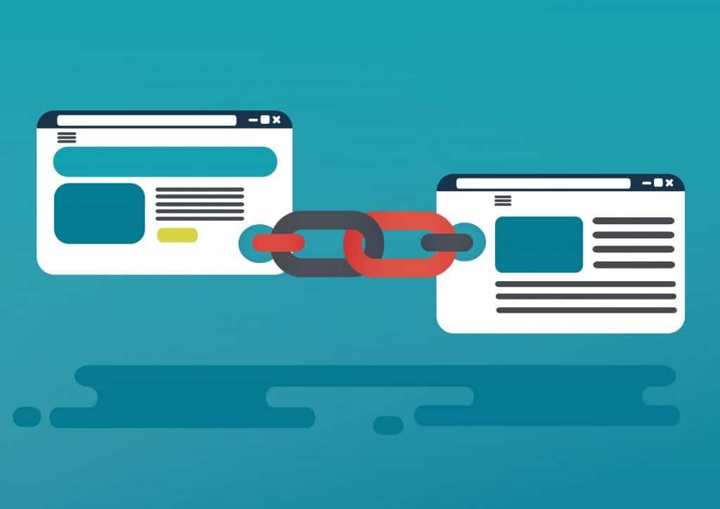 Ilustração mostra como links e hiperlinks funcionam