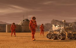 Life on Mars? Why the size of the planet makes the hypothesis difficult